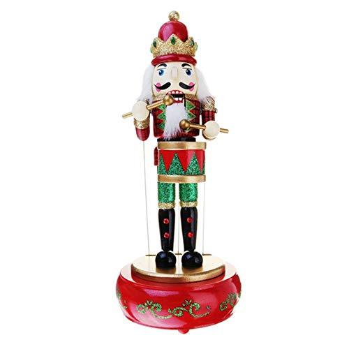 Tingting1992 Music Box Caja de música marioneta Hecha a Mano Muñeca de Zanahoria de Madera Decoración removible Caja de música (Color : A)