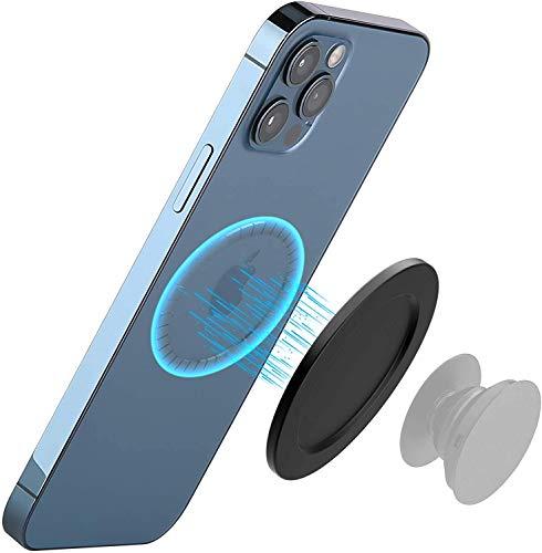 Power Technology - Base magnética magnética para iPhone 12, soporte de sujeción para accesorios y anilla