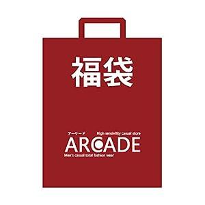 (アーケード) ARCADE 【福袋】 メンズ アウターかジャケット1点 ロンTまたはカットソー1点 アクセや小物点 今期ヒットアイテム1点)4点以上セット XLサイズ