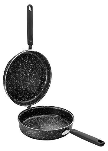 IBILI 441020sartén para Tortilla Natura Aluminio Negro 20cm