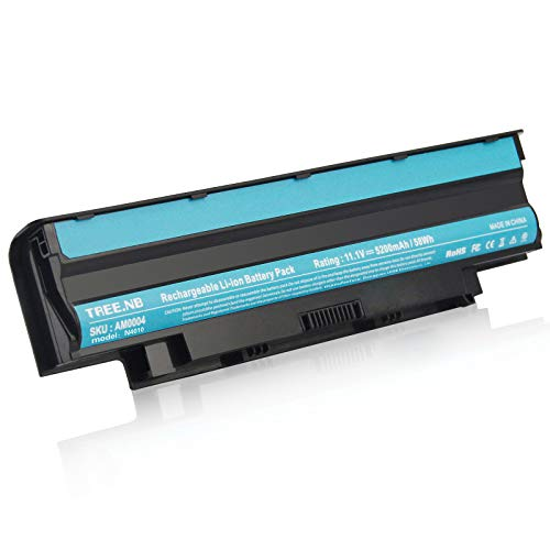J1KND Battery High Performance Compatibe with Dell Inspiron 3420 3520 13R N3010 14R N4010 15R N5010 N5050 M5110 M4110 M501 M503, DELL Type: 04YRJH 383CW 06P6PN 07XFJJ 451-11510 312-0233 - 2y Warranty