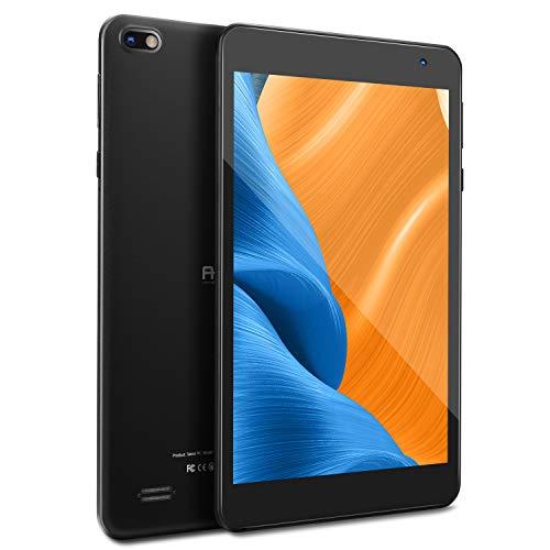 Tableta de 7 Pulgadas FHD, con Pantalla táctil de 1080P IPS, Tableta con Android 10, 2GB de RAM, 32 GB de Almacenamiento, Procesador Quad-Core, Wi-Fi, Bluetooth (Negro)