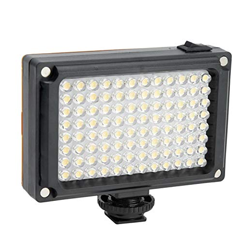 Fülllichtkamera Fülllicht, LED-Fülllicht für Video, Fülllicht Mini, Dimmbares LED-Videolicht, 96 LED Ultra Bright Dimmbares Kameralicht