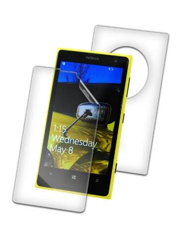 ZAGG invisibleSHIELD® ORIGINAL Schutzfolie für Nokia Lumia 1020 - Full Body (Bildschirm & Rückseite)