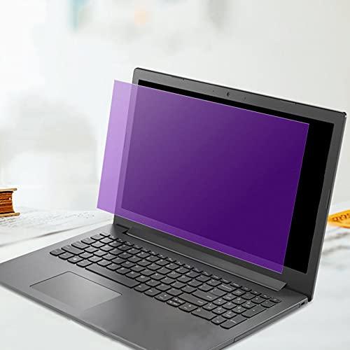 WLWLEO Protector de Pantalla antideslumbrante para portátil de 13,3-15,6 Pulgadas,Bloqueo del Filtro de luz Azul,Película Mate Compatible con HP/DELL/Sony/Samsung/Lenovo,13.3 inch/294×165mm