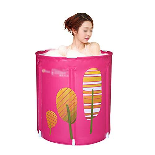 Folding Bathtub - Bathtub for Adult - Girl Bathtub Easy to Store Travel Portable Spa Outdoor Shower Best Gift