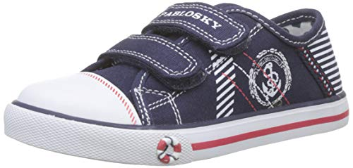 Pablosky, Zapatillas sin Cordones para Niños, Azul (Azul 953220), 21 EU