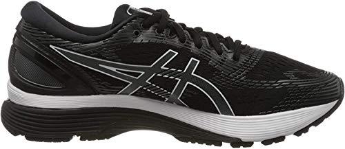 ASICS Men's Gel-Nimbus 21 (4E) Running Shoes, 9.5XW, Black/Dark Grey
