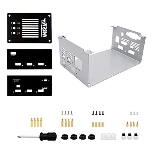 changzhou Kit de invólucro de metal DIY para DE10-Nano Parts placa principal hub USB áudio portátil Vide Mister FPGA I/O Board Core Control Suit Metal case Set USB hub i/o Board