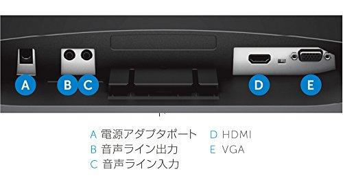 『Dell ディスプレイ モニター S2316H 23インチ/フルHD/IPS光沢/6ms/VGA,HDMI/スピーカ内蔵/フレームレス/3年間保証』の2枚目の画像