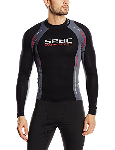 Seac Warm Guard Long Herren Thermo-Schutzweste aus 5mm Neopren, Rash Guard zum Schnorcheln und Schwimmen als UV-Schutz