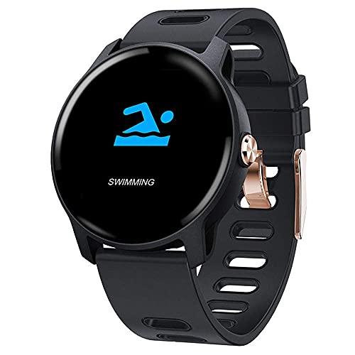 KDMB Reloj Inteligente Pantalla a Color Ritmo cardíaco Reloj Inteligente Presión Arterial Sueño Monitoreo de la Salud Recordatorio de información Inteligente Podómetro WatchC