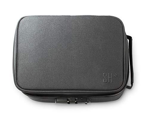 STASHIC Premium Large Smell Proof Stash Bag - Lockable Case - Rolling Box - Discreet Safe Storage - SH*