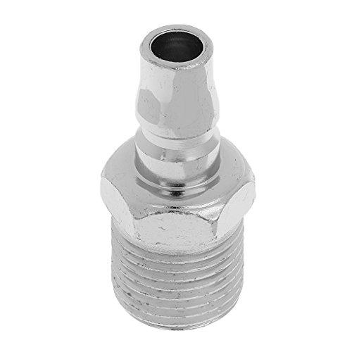 FLAMEER 8 Adaptador de Boquilla Enchufable de Aire Comprimido de 20 Mm para Línea de Aire, Tubo de PU, Herramienta de Aire Comprimido - PM40