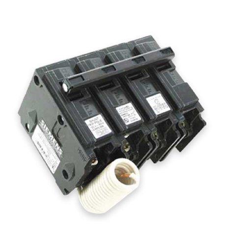Siemens q34000s01240-volt tipo mp-t 40-amp viaje de derivación de interruptor de circuito con 120-volt tres Pole