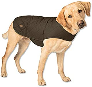 Orvis Quilted Waxed Cotton Dog Jacket/Quilted Waxed-Cotton Dog Jacket