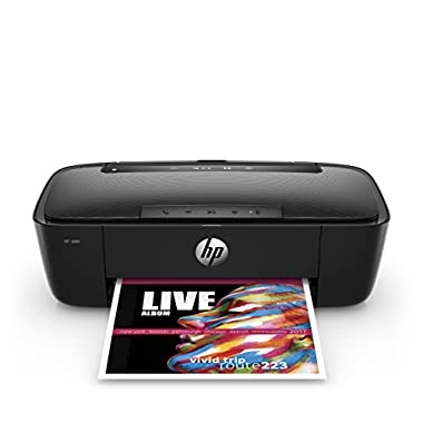 HP AMP 100 Wireless Printer - Printer and Bluetooth Speaker in One, HP Instant Ink & Amazon Dash Replenishment ready (T8X39A)