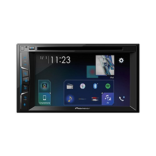 Pioneer AVH-Z7100DAB 1DIN Autoradio Clear-Resistive-touchscreen Bluetooth, digitale radio 2DIN 6,2