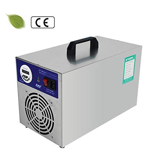 D&F Generatore di ozono Industriale 30000 MG/Ora con Timer Display LCDpurificatore d'Aria ozonizzatore per Stanza Contro Fumo odori di Auto e Animali Domestici