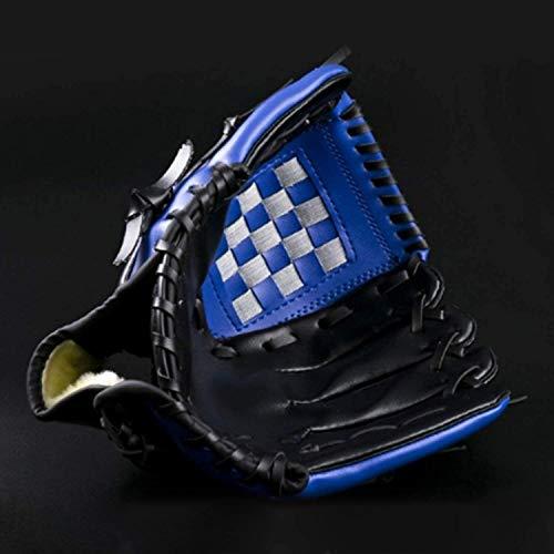 Acidea 11.5inch, Blue Premium Teeball Glove Youth Adult Kids Fielding Glove PU Leather Baseball Glove Softball Mitts