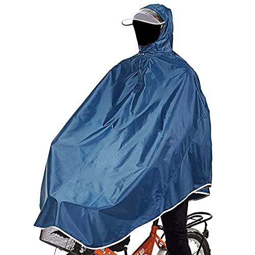 sorliva Mantella Impermeabile, Poncho Impermeabile,Giacche Impermeabile con Visiera,Giacche Resistenti all'acqua,Giacche per Bicicletta, Moto, Motolino,Coperta Impermeabile per Moto