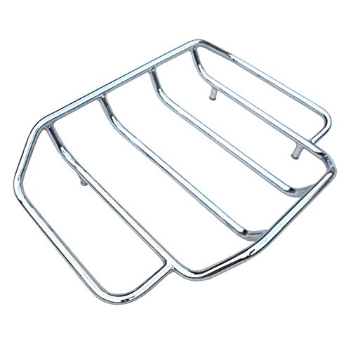 HTTMT A07-CD Luggage Rack Rail Compatible with 4 Harley Touring Road King Street Glide Classic Special