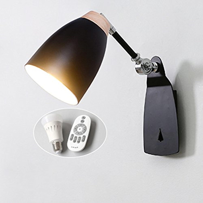 StiefelU LED Wandleuchte nach oben und unten Wandleuchten Wand lampe Nachttischlampe Schlafzimmer Wohnzimmer Arbeitszimmer Treppe lesen Wall, schwarz, 02 geschaltet