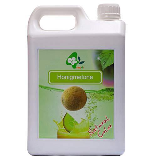 Fruchtsirup Bubble Tea Getränkekonzentrat Honigmelone