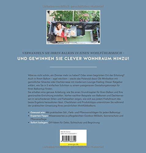 Mein Open-Air-Wohnzimmer: Schritt für Schritt zum persönlichen Wohlfühlbalkon (GU Garten Extra) - 4
