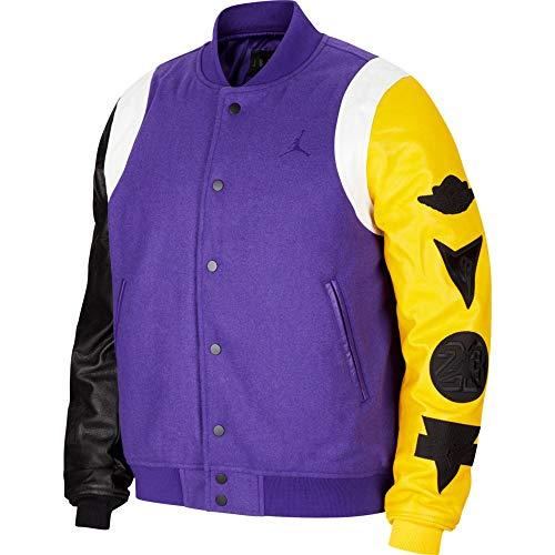 Nike Jordan Sport Dna Varsity Jacket violeta XL