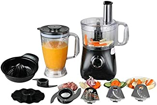 Food Processor,Stand Mixer & Multi-Function Stand Mixer Attachment 3 Speed Options, 5 Cutting Blades & 1 Disc, Safety Interlocking Design 500 W