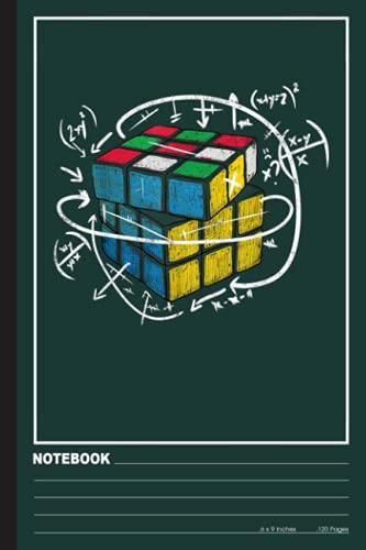 Puzzle Cube Speed Magic Rubic Cubing Speedcubing Notebook: : Lined Notebook | Speed cubing Notebook Journal for Speed cubing Lovers | 120 pages 6x9 inch | Speed cubing Gift