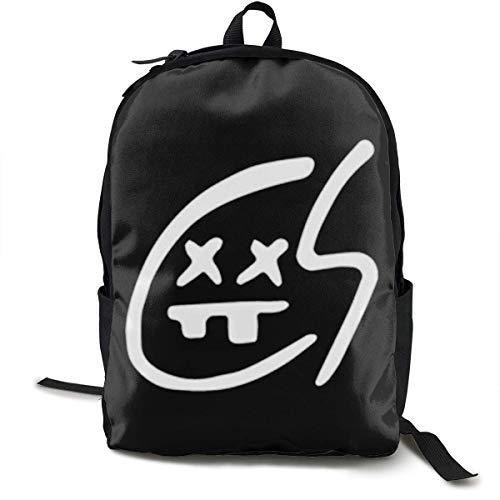 Daypack Travel Backpack Bookbag The Chainsmokers School Backpack Bag High Middle Bookbag for Men Women Boys Girls
