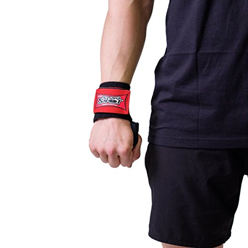 Sling Shot Mark Bell's Stretchy Wrist Wraps for Cross-Training, Weightlifting, and Bodybuilding
