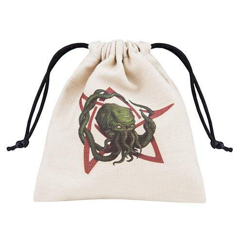 Qworkshop QworkshopBCTH104 Call of Cthulhu Dice Bolso, Multicolor (Beige), 12 x 12 x 12 cm