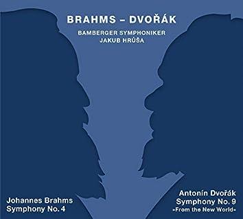 """Brahms: Symphony No. 4 - Dvorák: Symphony No. 9 """"From the New World"""""""