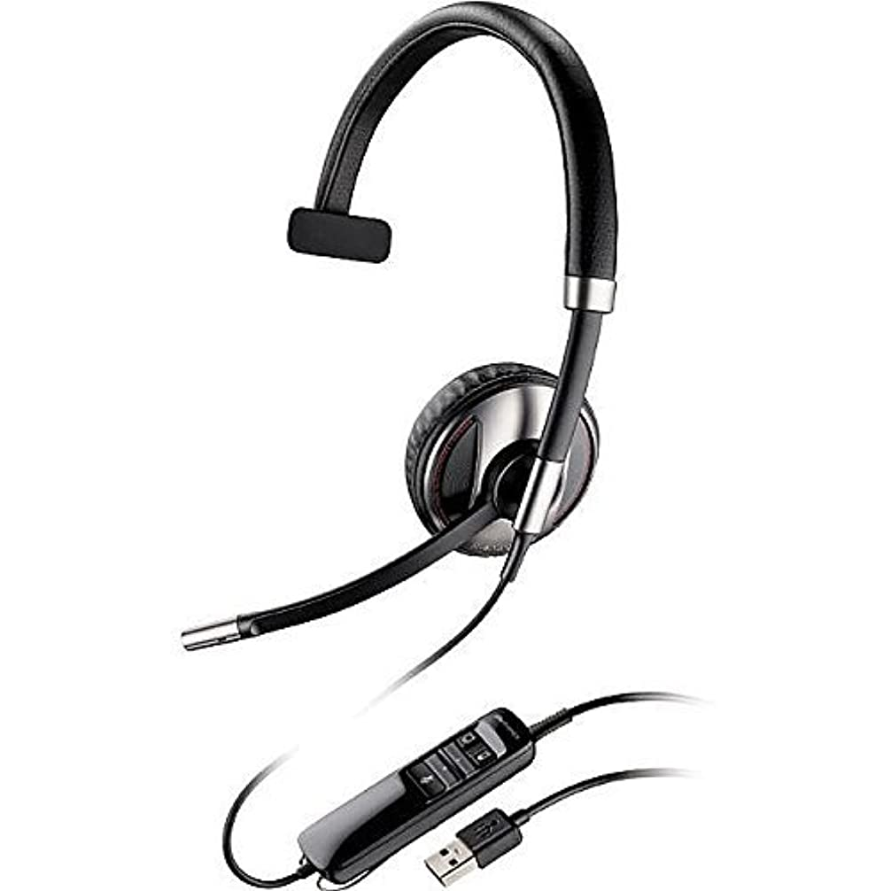 ハドル傾いた描写Plantronics Blackwire (87505-01) Monaural Bluetooth-Enabled Corded Usb Headsets Optimized for Microsoft Lync with Noise Canceling Microphone and Hi-Fi Stereo Sound [並行輸入品]