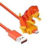 Cable de Datos para Perros Rogue de 2 Piezas de 1,2 M, Cargador para Perros Mini Humping Spot: Balanceará Automáticamente Las Caderas Al Cargar y Se Detendrá Solo Cuando Esté Completamente Cargado