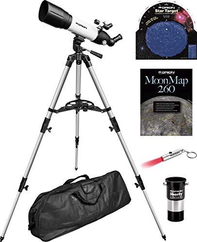 Orion StarBlast 90mm Altaz Travel Refractor Telescope Kit