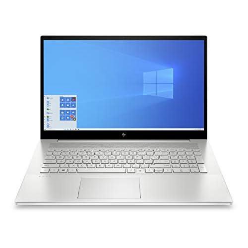 HP - PC Envy 17-cg0004nl Notebook, Intel Core i7-1065G7, RAM 16 GB, SSD 256 GB, SATA 1 TB, Nvidia GeForce MX330 4 GB, Windows 10 Home, Schermo FHD IPS 17.3