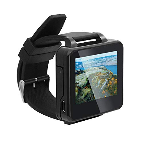QWinOut FPV Watch 5.8Ghz 48 CH Raceband 2 Inch LCD Monitor Real-Time Video Wearable Watch for DIY Drone RC UAV Helicopter Quadcopter Aircraft