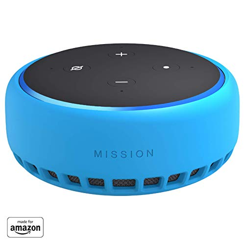 Made for Amazon Case for Echo Dot (3rd Gen) - Bahama Blue