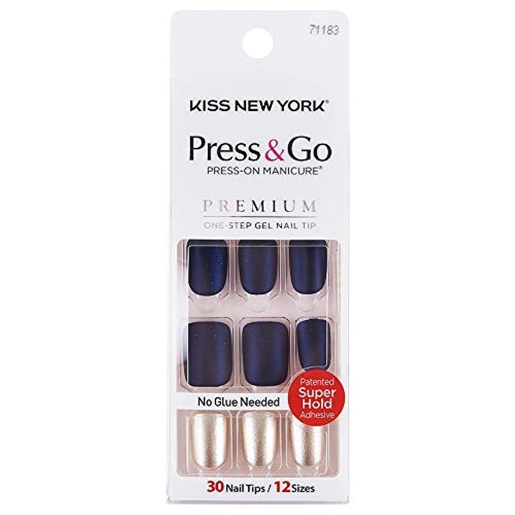 望みサスペンド経済KISS NEWYORK ネイルチップPress&Go BIPA020J