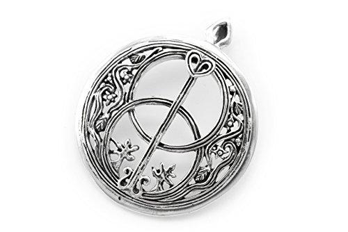 windalf incanta Avalon H: 3.4cm GRAL Suche Celti gioielli in argento Sterling 925