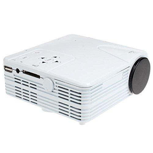Cebbay HD 1080P Home Cinema Cine LED Proyector LCD PC AV TV VGA USB HDMI
