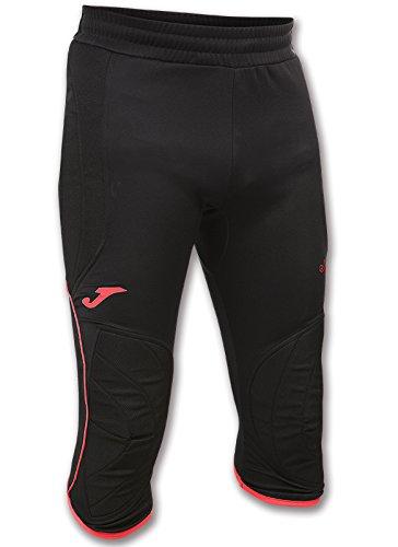 Joma Protect pantaloni da portiere, uomo, UOMO, 100448.119.S, Nero/corallo, M