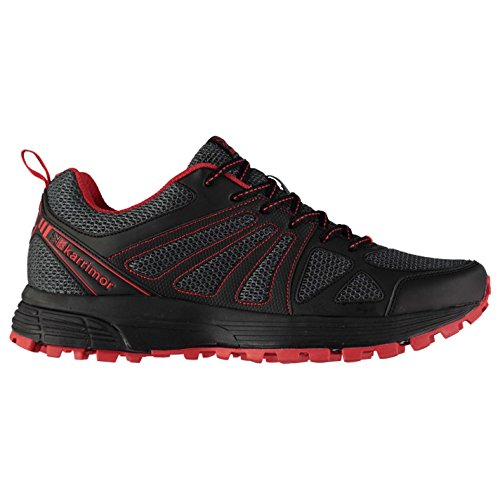 Karrimor Mens Caracal Trail Running Shoes Charcoal/Red UK 9 (43)