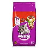 Ração Whiskas Carne Para Gatos Adultos 3 kg
