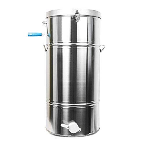 BZZBZZ Stainless Steel Honey Extractor Household Manual Professional Beekeeping Equipment, Best Gift for Beekeeper