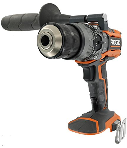 Ridgid R8611503 Gen5X 18V Lithium Ion Cordless 1/2 Inch 780 Inch Pound Hammer Drill with LED Lighting and Textured Handle (Battery Not Included, Tool Only)